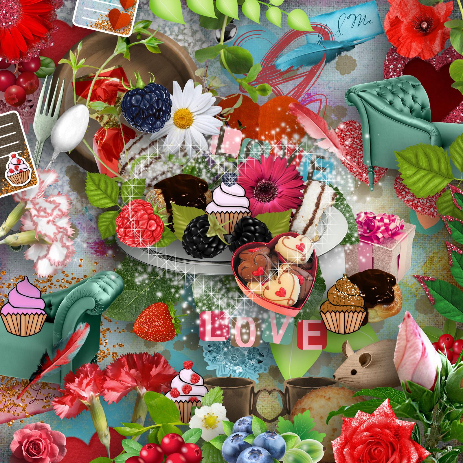 A déguster en Amoureux - KIT by Simplette