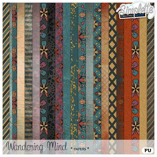 Wandering Mind - new collection