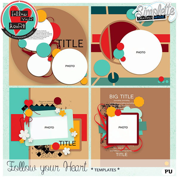 Follow your Heart - Studio Event collection + FREEBIE